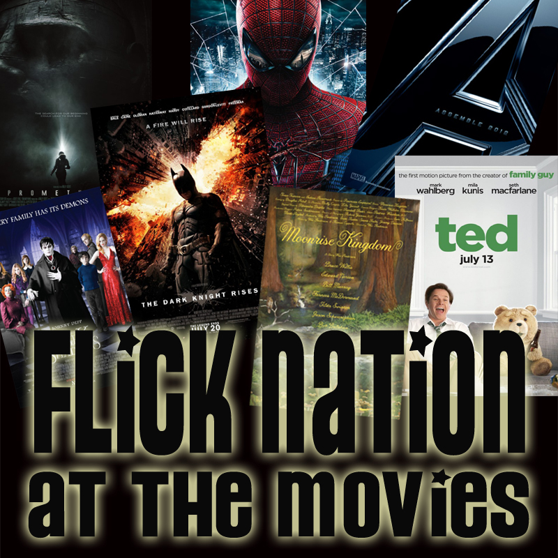 Summer 2012 At the Movies