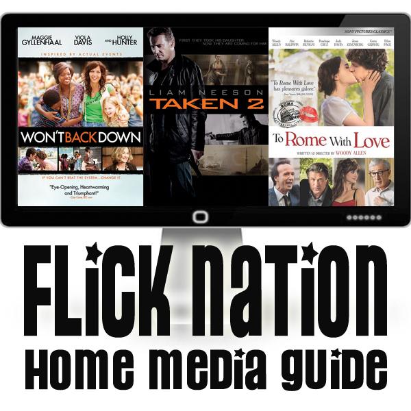 Flick Nation: Home Media Guide – 1/15/13