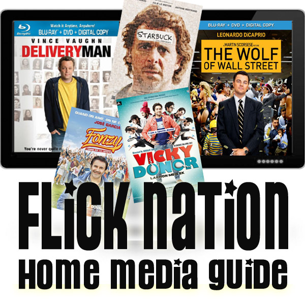 Flick Nation: Home Media Guide – 3/25/14