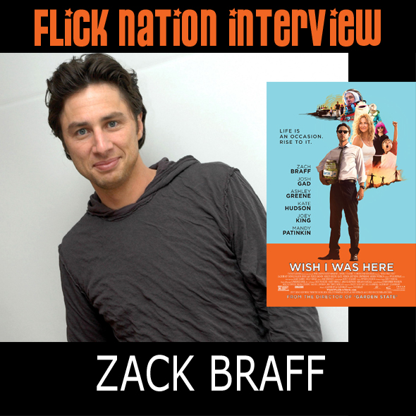 Interview: Zack Braff (Wish I Was Here)