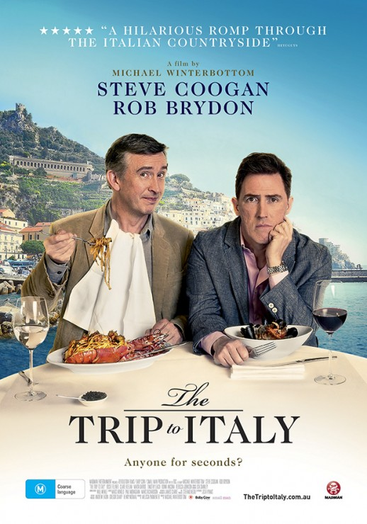 FREE MOVIE SCREENING – THE TRIP TO ITALY – August 19th