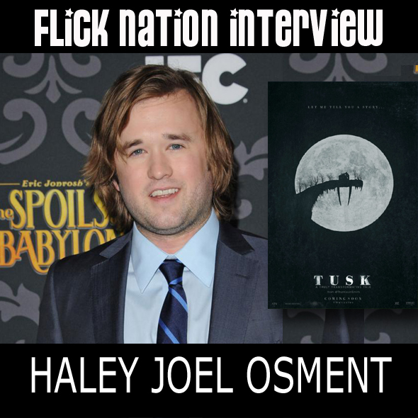 Interview: Haley Joel Osment (Tusk)