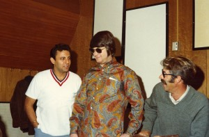 Brian Wilson with Hal Blaine and Ray Pohlman