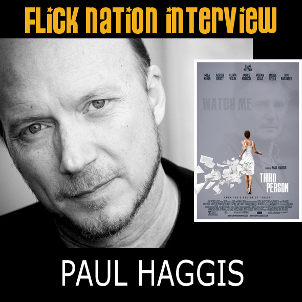 Interview: Paul Haggis (Third Person)