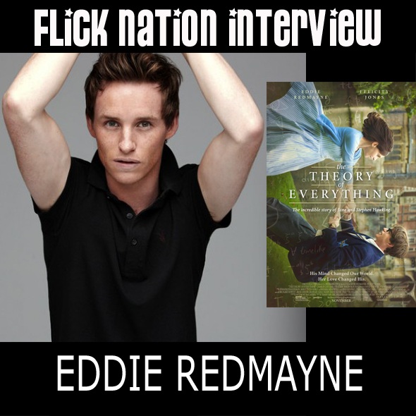 Flick Nation Interview: Eddie Redmayne (The Theory of Everything)
